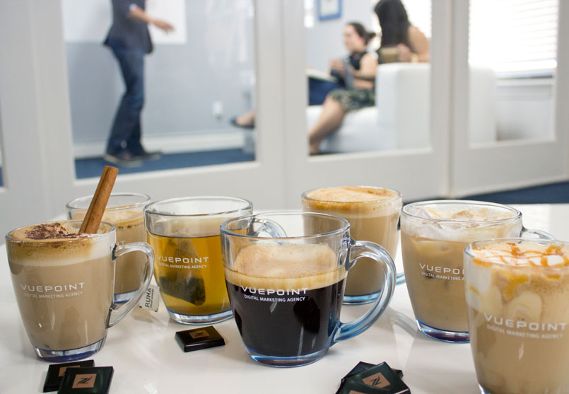 Vuepoint Coffee Drinks