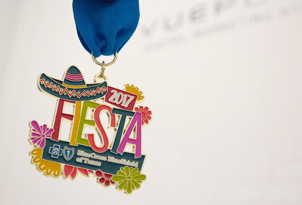 BlueCross BlueShield Fiesta Medal 2017
