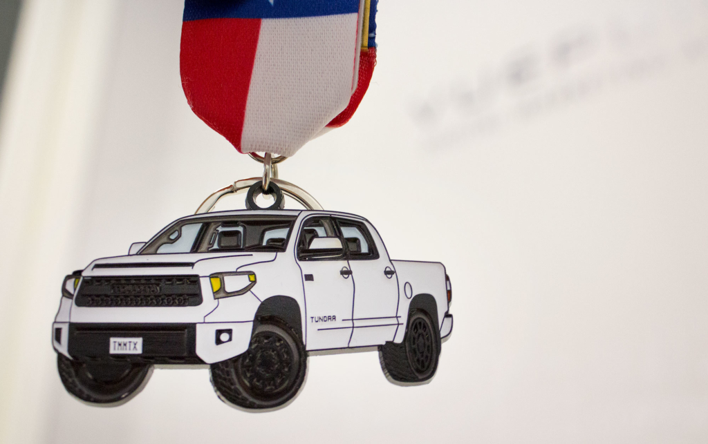 Toyota Fiesta Medal 2017