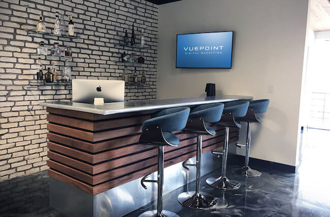 Vuepoint Office Entryway